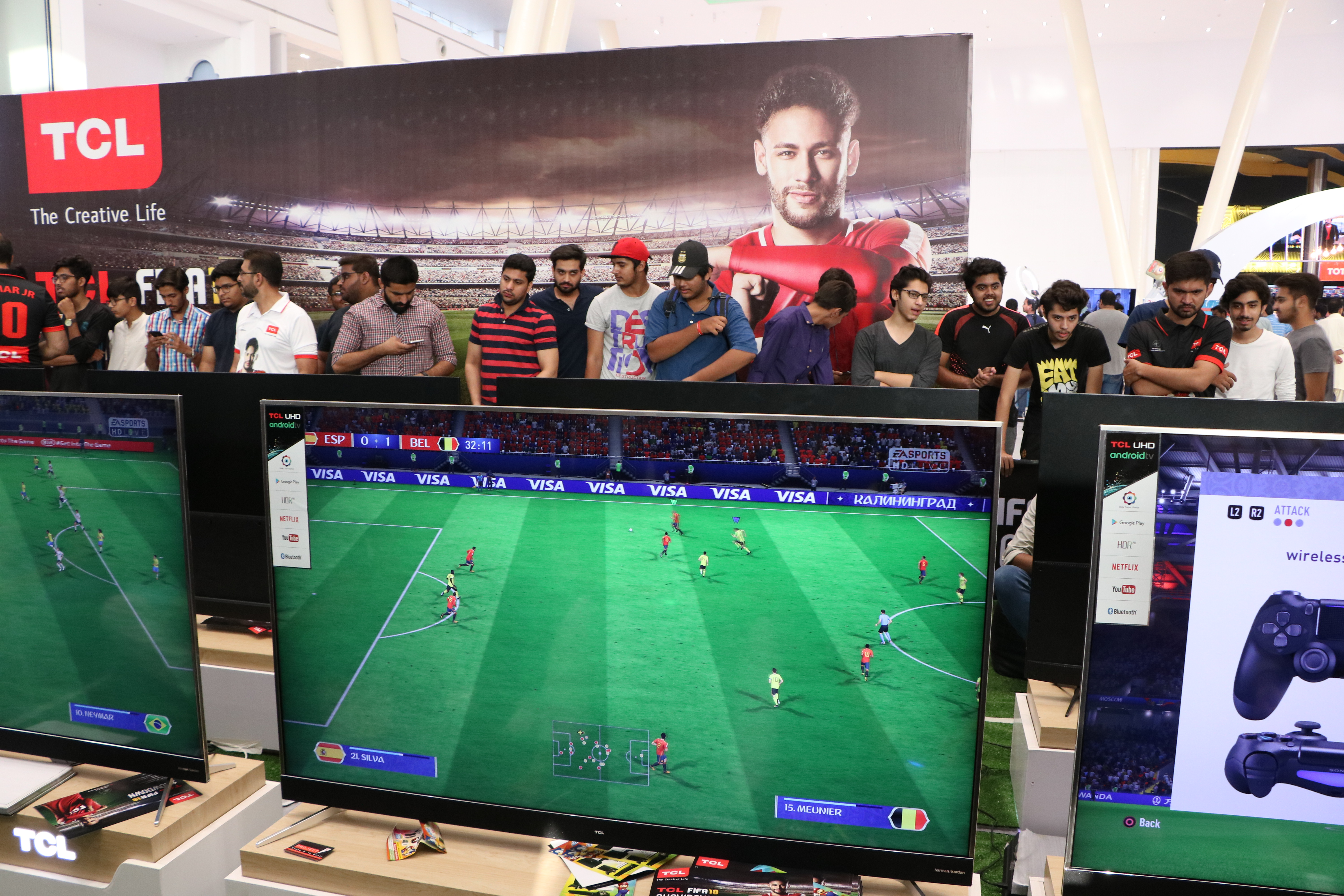 TCL Holds Biggest FIFA Gaming Showdown Event in Lahore
