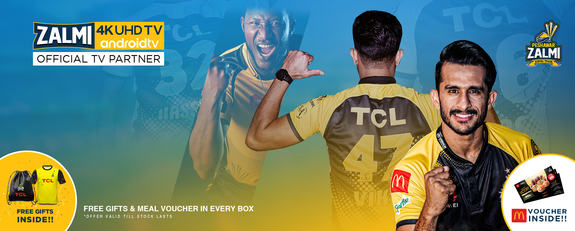 TCL Launches Limited Edition TVs for PSL 2020