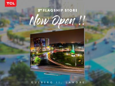 TCL Opens its 3rd Flagship Store in Lahore