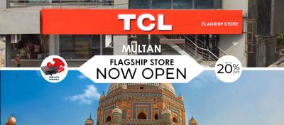 TCL Opens its Flagship Store in Multan