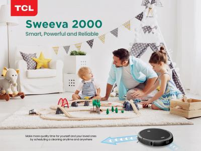 TCL launches Robot Vacuum Cleaner Sweeva 2000 in Pakistan