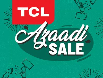 TCL and Daraz bring its Jashn-e-Azadi Sale gala with huge discounts