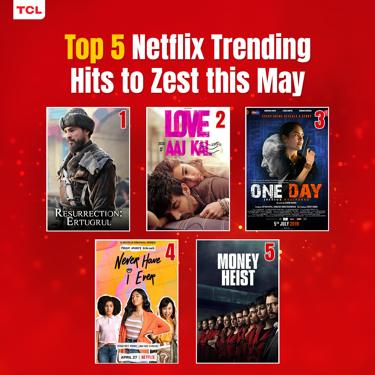 Top 5 Netflix Trending Hits to Zest this May