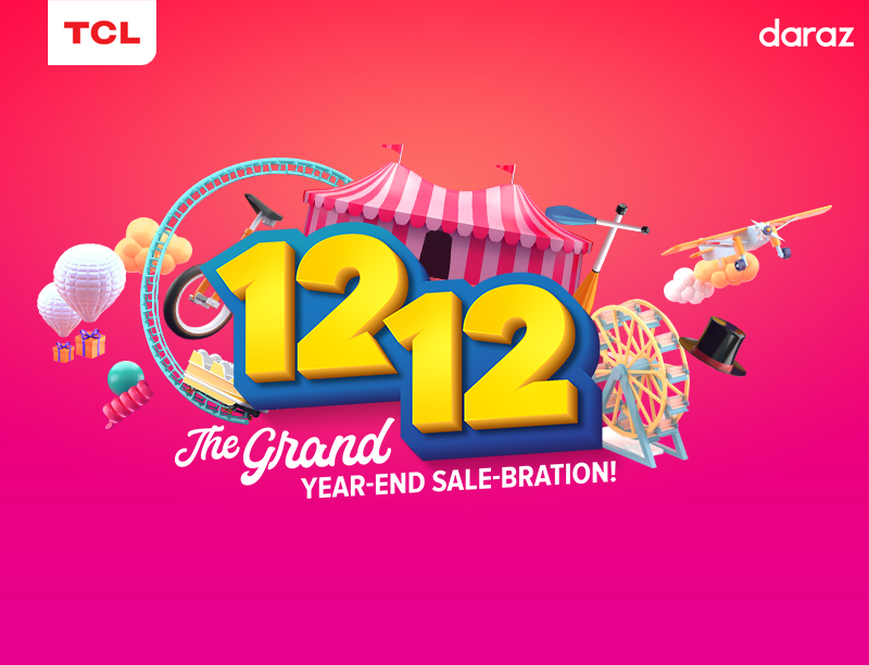 TCL and Daraz ends the year with a Bang with Mega discounts on 12.12 sale