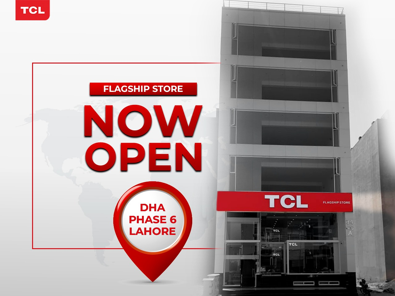 TCL Opens its 2nd Flagship Store in Lahore