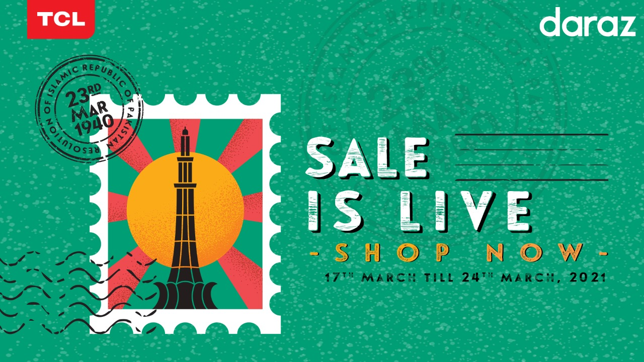 Huge Discounts on your way this Pakistan day on TCL