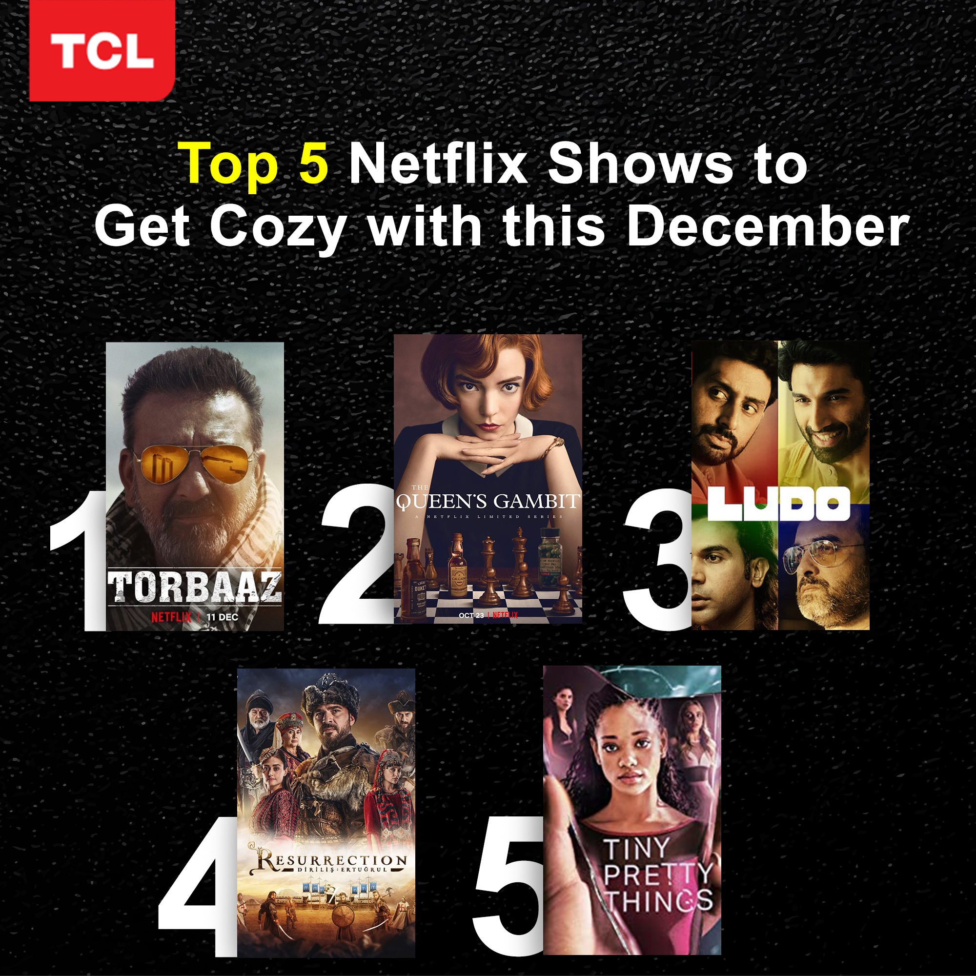 5 Netflix Shows to Get Cozy with This December