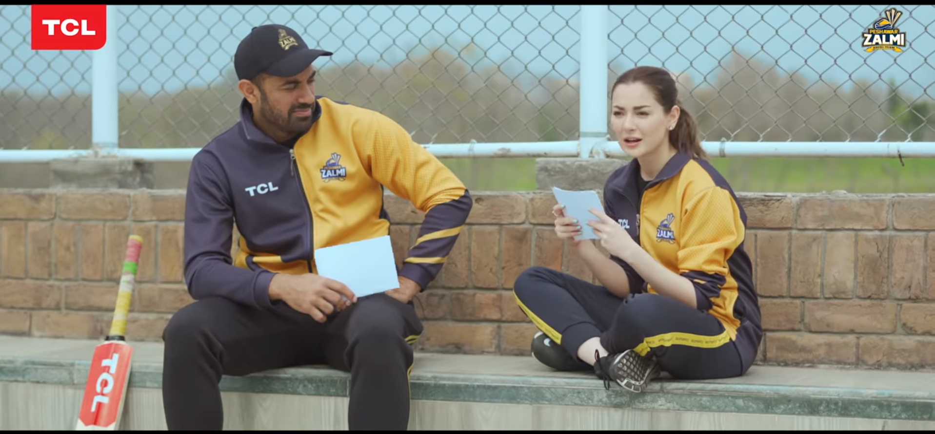 Wahab Riaz and Hania Aamir TCL Brand Ambassadors for PSL 2020
